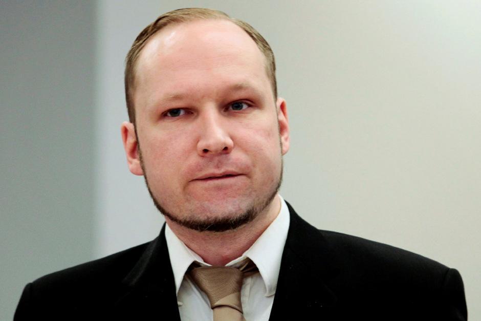 Der norwegische Massenmörder Anders Behring Breivik.