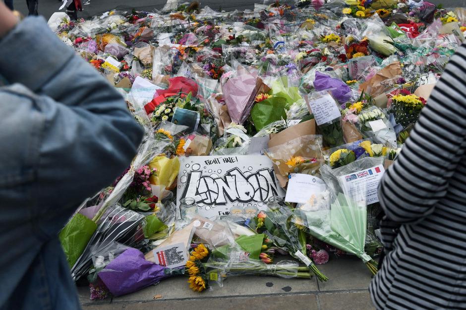 Andenken an die Opfer des Terroranschlags.