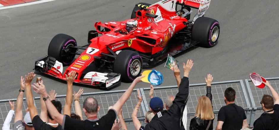 Die Formel-1-Fans in Kanada bekommen auch weiterhin ihre Helden hautnah zu sehen.