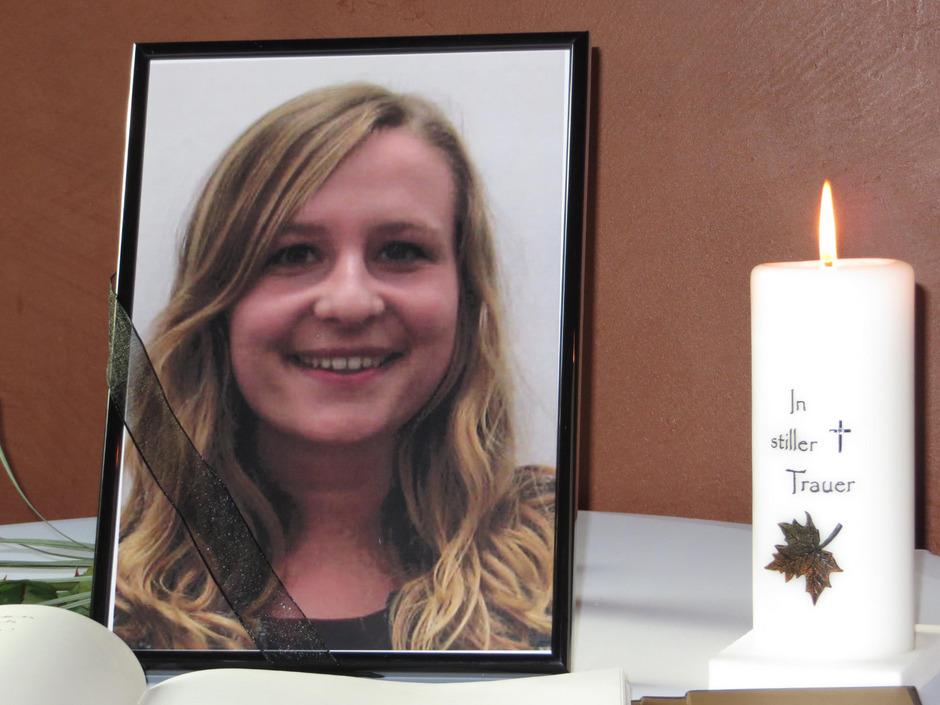 Trauer um die ermordete Lucile.