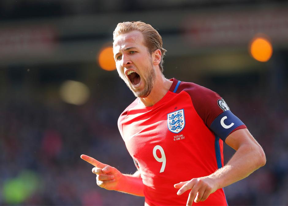 England jubelte über den späten Ausgleichstreffer von Harry Kane.