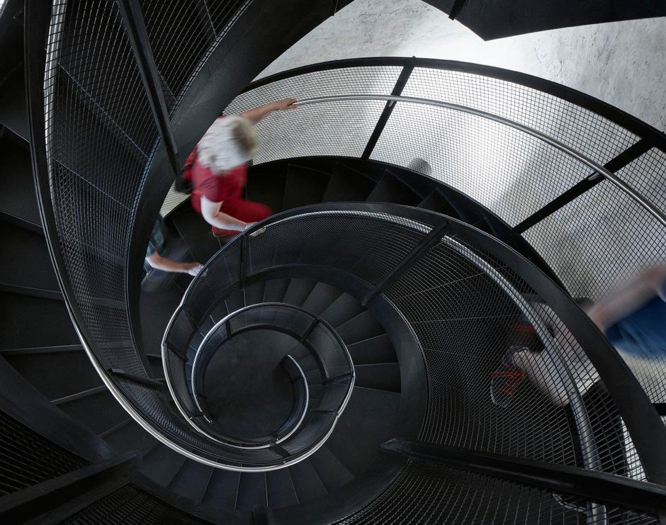 Architekt Hanno Vogl-Fernheim hat die neue Treppe für den Innsbrucker Stadtturm geplant.