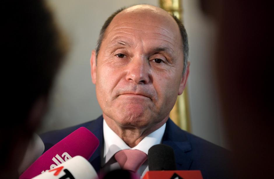 Innenminister Wolfgang Sobotka.