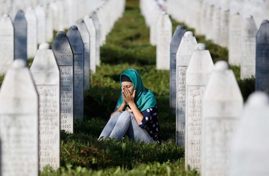 Unvergessen: Die Opfer von Srebrenica.