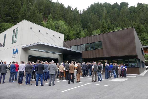 Das neu errichtete Hauptgebäude in Oberthal bietet heute 900 Quadratmeter Nutzfläche.