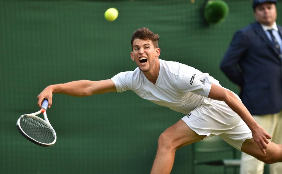 Für Thiem war im Vorjahr in Wimbledon in der zweiten Runde Endstation.