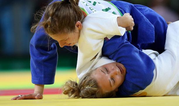 Bernadette Graf war beim Grand Prix in Hohhot obenauf.