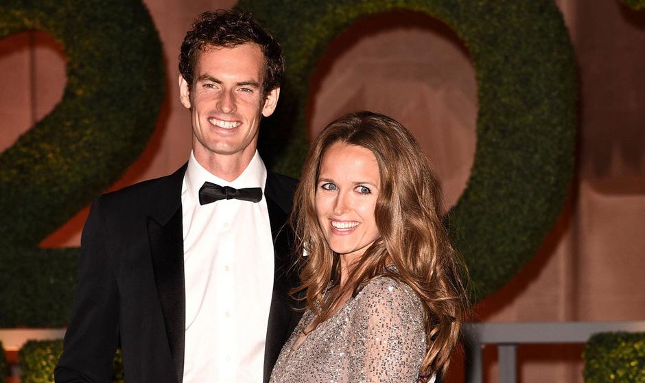 Andy Murray und Kim Sears erwarten ihr zweites Kind.
