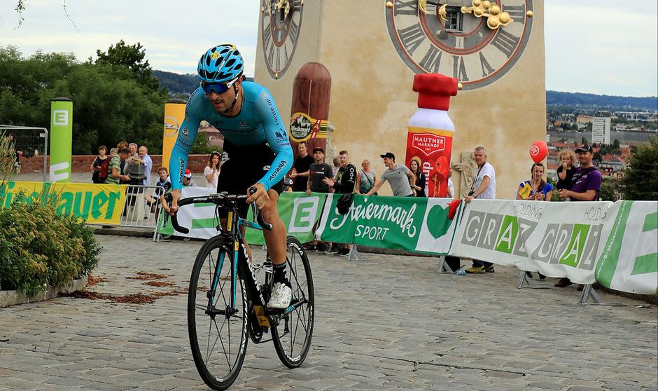 Oscar Gatto war auf den 800 Metern auf den Schlossberg in Graz der Schnellste.