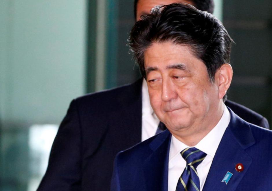 Japans Premier Shinzo Abe.