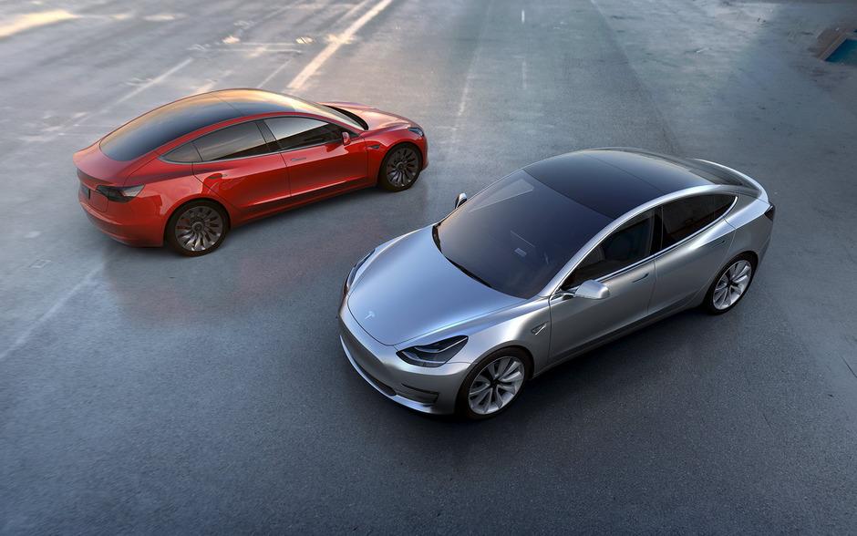 """Das """"Model 3"""" soll ab Ende 2017 ausgeliefert werden."""