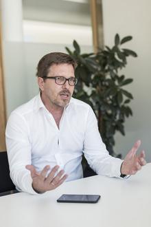 Bürgermeister Christian Abenthung.