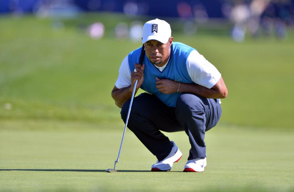 Golf-Superstar Tiger Woods.