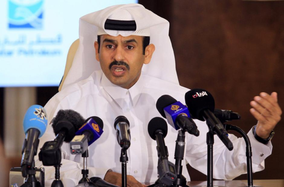 Katars Energieminister Saad Sherida Al-Kaabi.