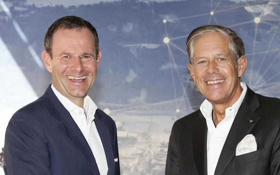 WK-Vize Manfred Pletzer (links) und Jürgen Bodenseer.