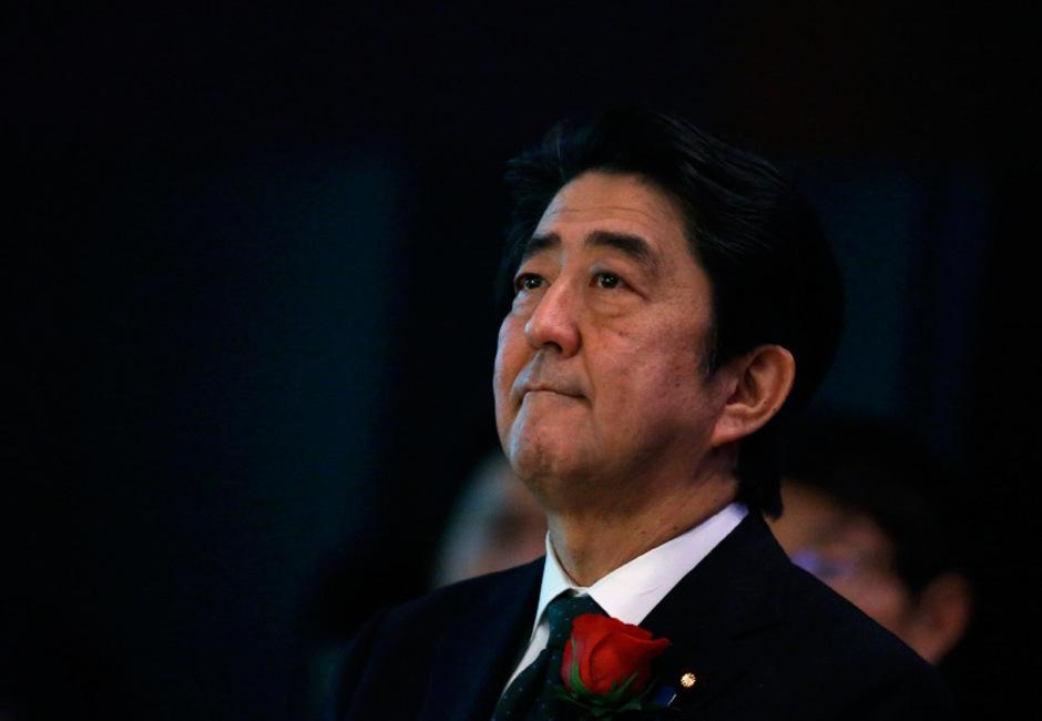 Japans Ministerpräsident Shinzo Abe.
