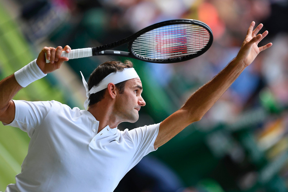 Federer überholte mit seinem 85. Wimbledon-Sieg den Amerikaner Jimmy Connors.
