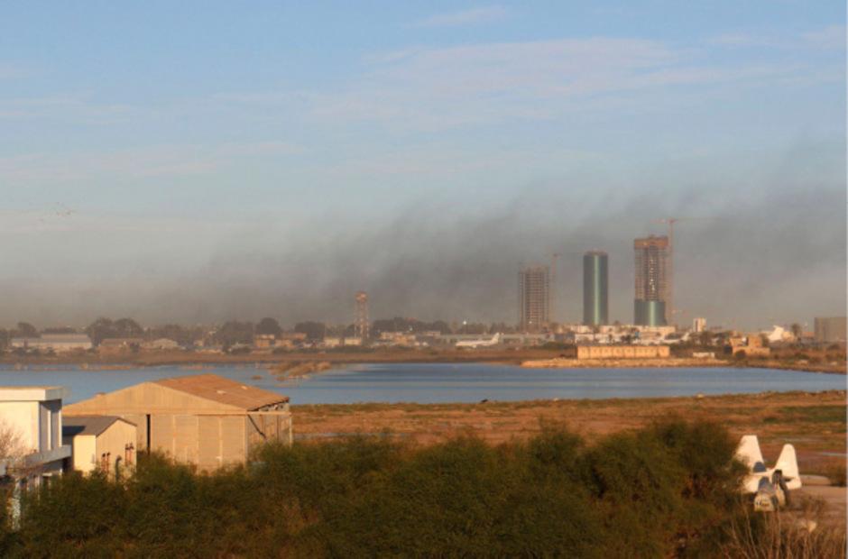 In Libyen kämpfen verfeindete Milizen um die Vorherrschaft.  (Archivbild)