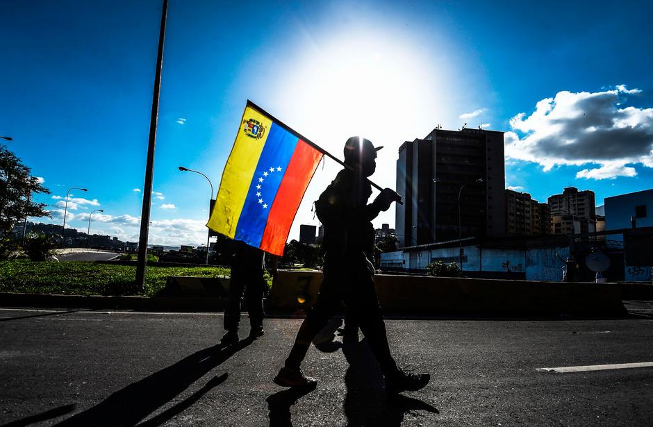 Die Demonstrationen gegen das Maduro-Regime gehen weiter.