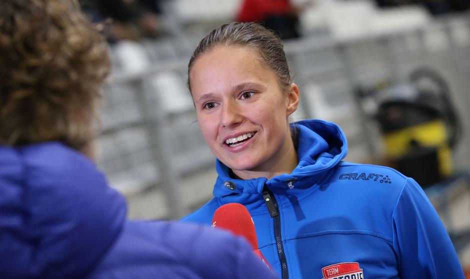 Auch auf Inline Skates erfolgreich: Vanessa Herzog.