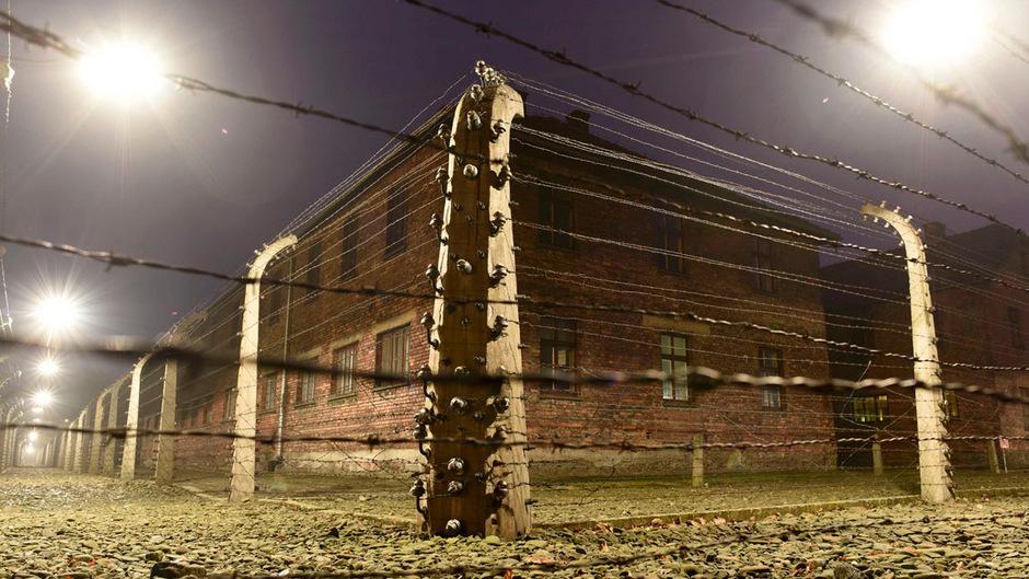 Zäune rund um das ehemalige Vernichtungslager Auschwitz.