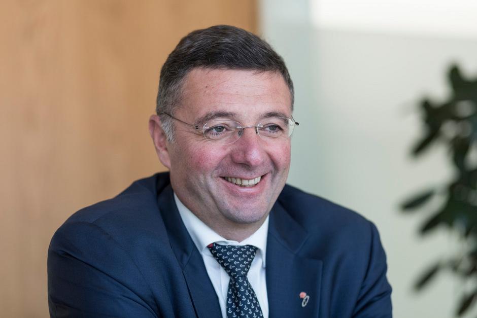 Infrastrukturminister  Jörg Leichtfried.