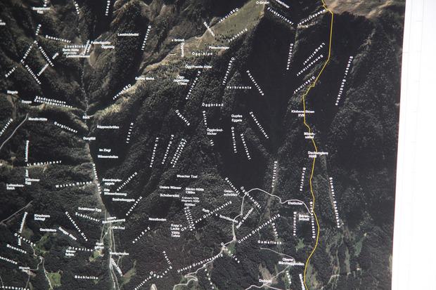 Viele teils kuriose Flurnamen gibt es in der Umgebung von Rietz.