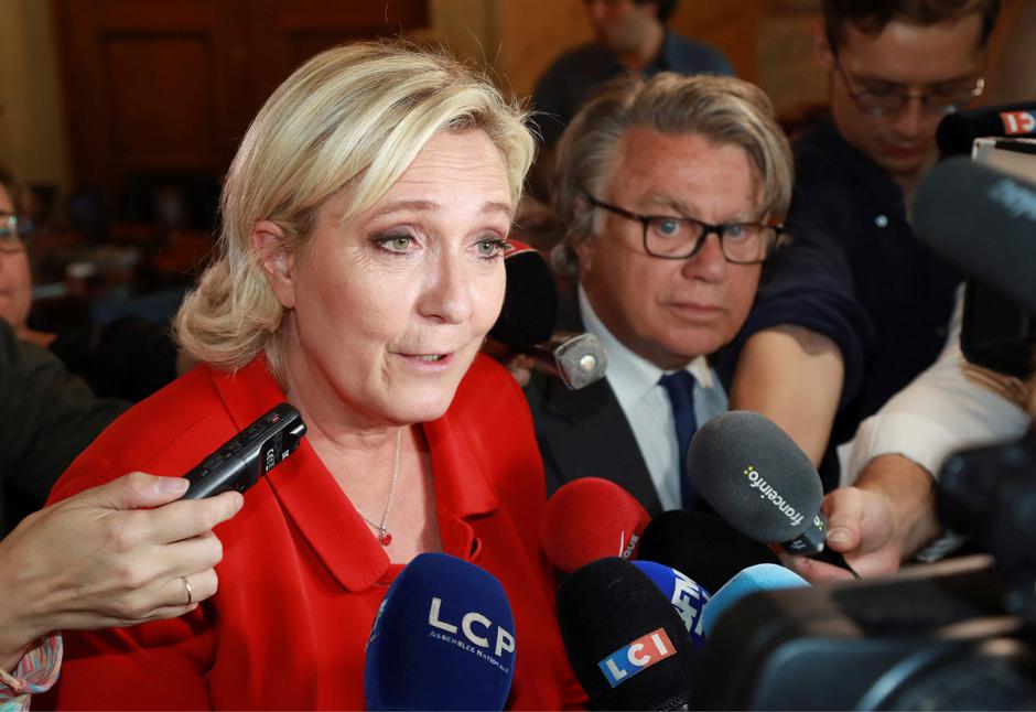Die französische Rechtspopulistin Marine Le Pen