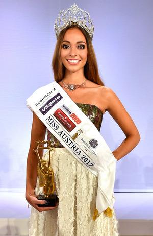 Celine Schrenk wurde zur Siegerin gekrönt.