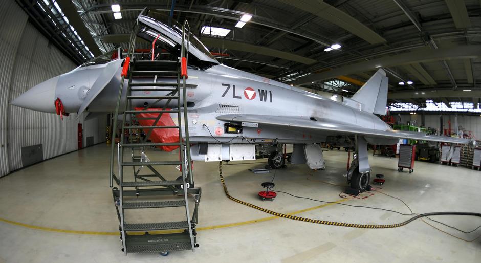 Die Eurofighter sollen künftig am Boden bleiben.