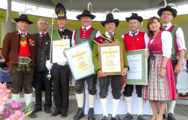 In Kirchberg wurden ebenfalls verdiente Mitglieder ausgezeichnet.