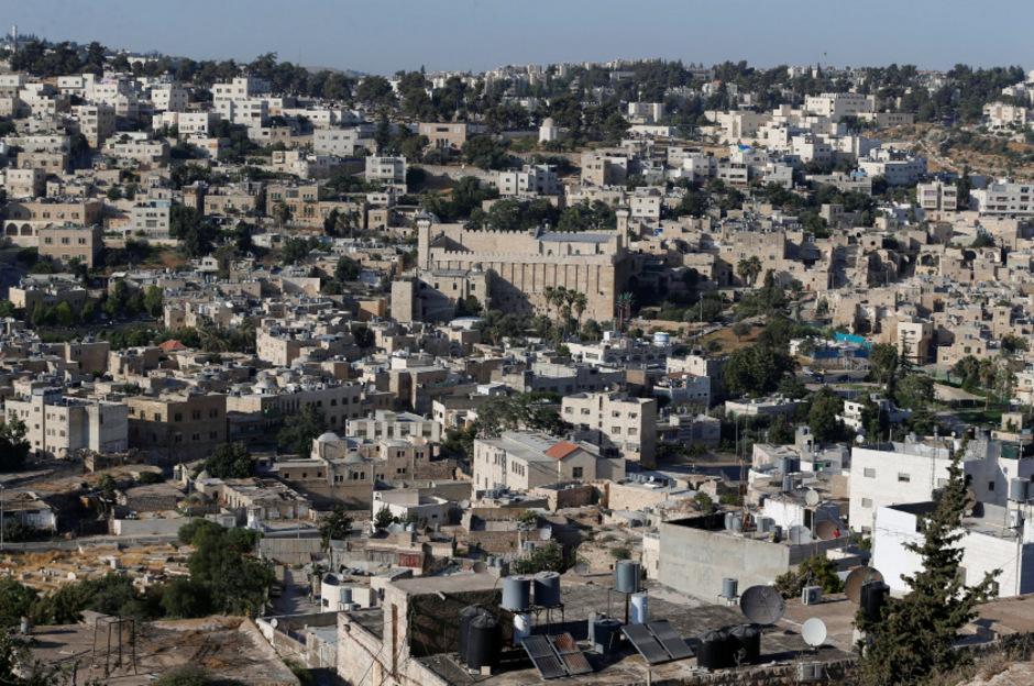 Blick auf Hebron.
