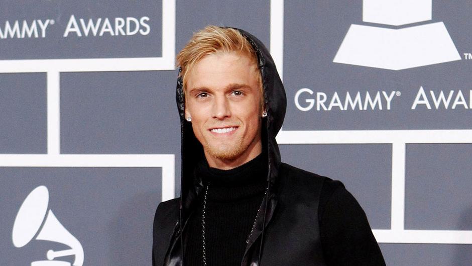 Aaron Carter bei den Grammys 2010. Der ehemalige Teenie-Star wurde festgenommen.