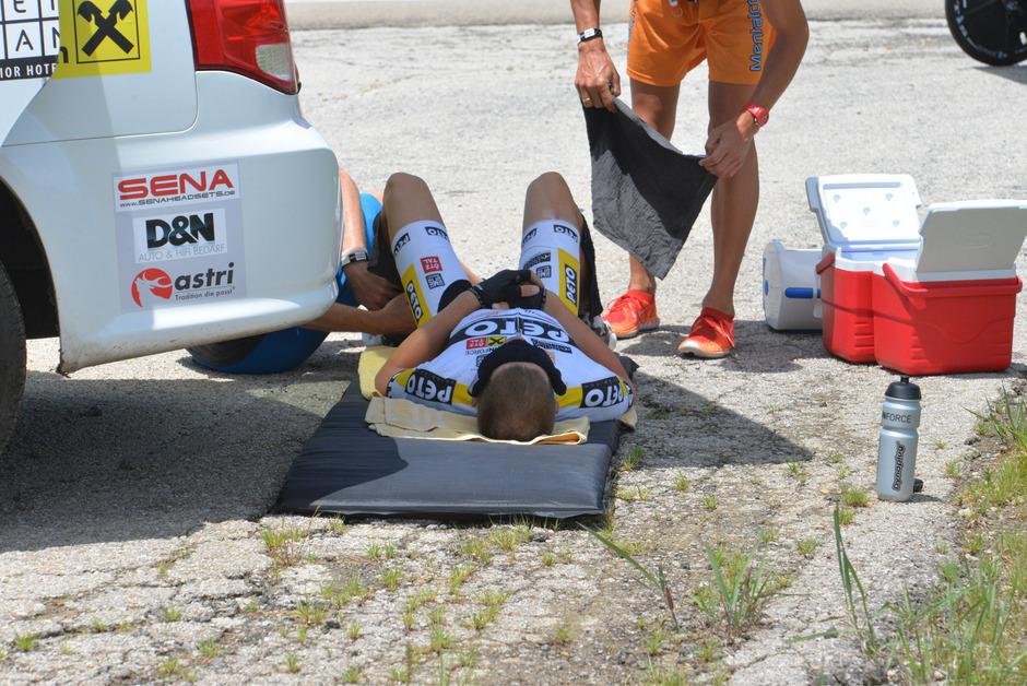 Noch heute schmerzt die Erinnerung: Der Ötztaler Patric Grüner gab beim Race Across America nach über 3500 Kilometern wegen einer Muskelermüdung im Nacken auf.