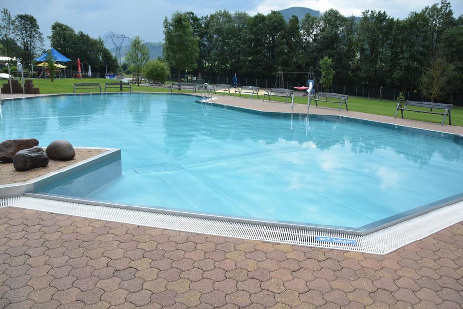 Der Pool in der Kaisertherme.