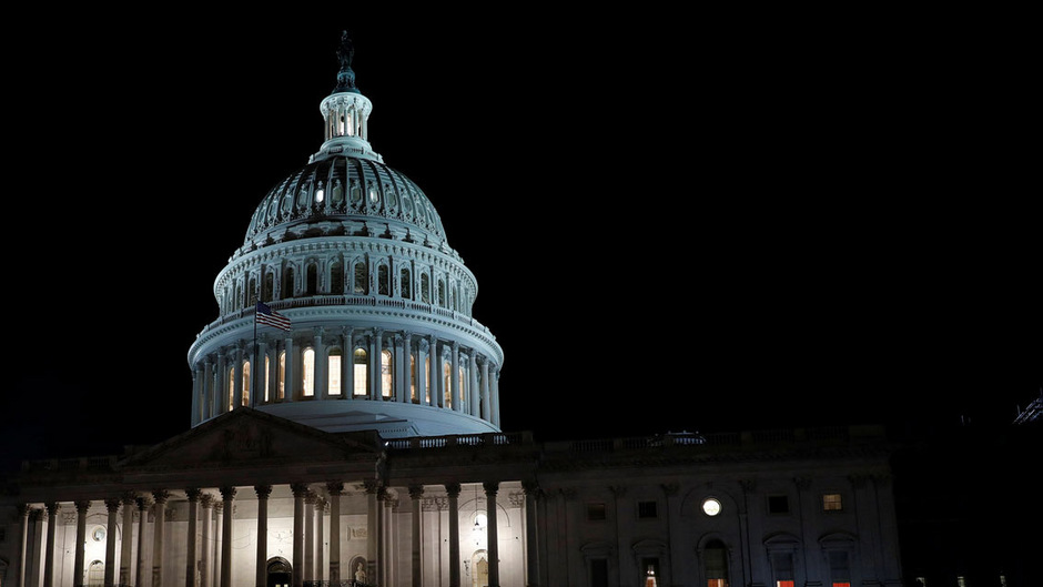 Das Kapitol, Sitz des US-Kongresses, in Washington, DC.