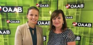 Alles AAB? Bettina Ellinger (l.), hier mit AAB-Chefin und LR Beate Palfrader, sieht das nicht so. Sie verzichtet auf eine Nationalrats-Kandidatur.