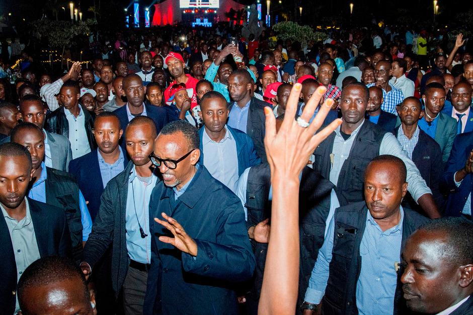 Staatschef Paul Kagame sicherte sich eine dritte siebenjährige Amtszeit.