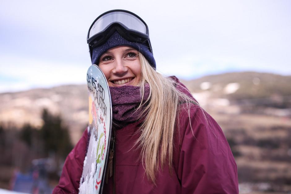 Anna Gasser.