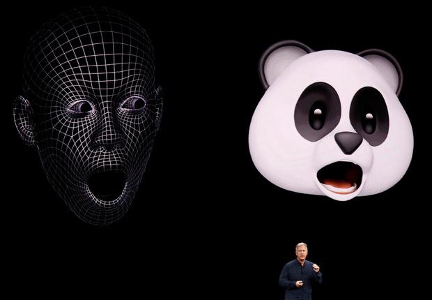Mit der neuen Gesichtserkennung von Apple lassen sich auch Animojis kreieren.