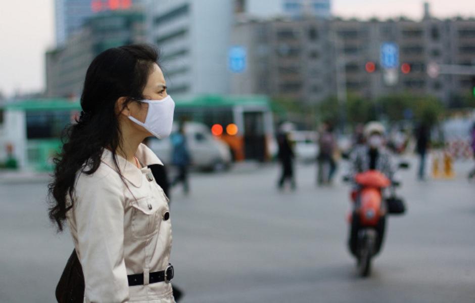 Atemschutzmasken sind nur zulässig, wenn das Bundesumweltamt Smogalarm gibt.
