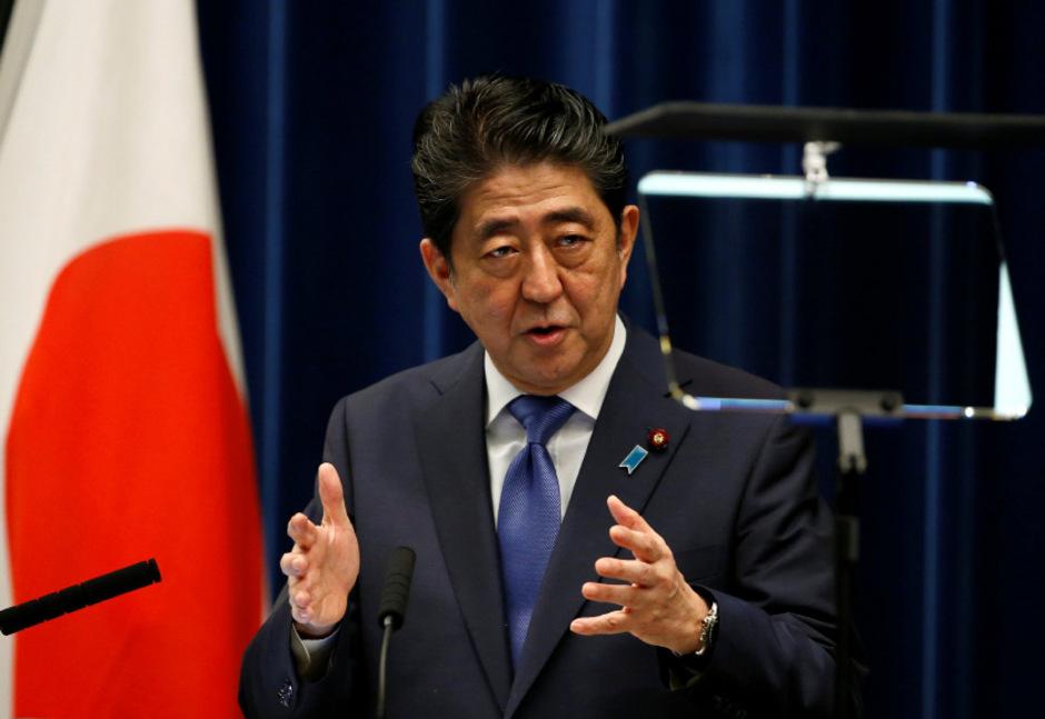 Der japanische Regierungschef Shinzo Abe.