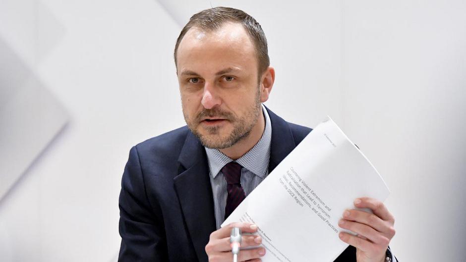 Der Politologe und OSZE-Sonderbeauftragte Peter Neumann.