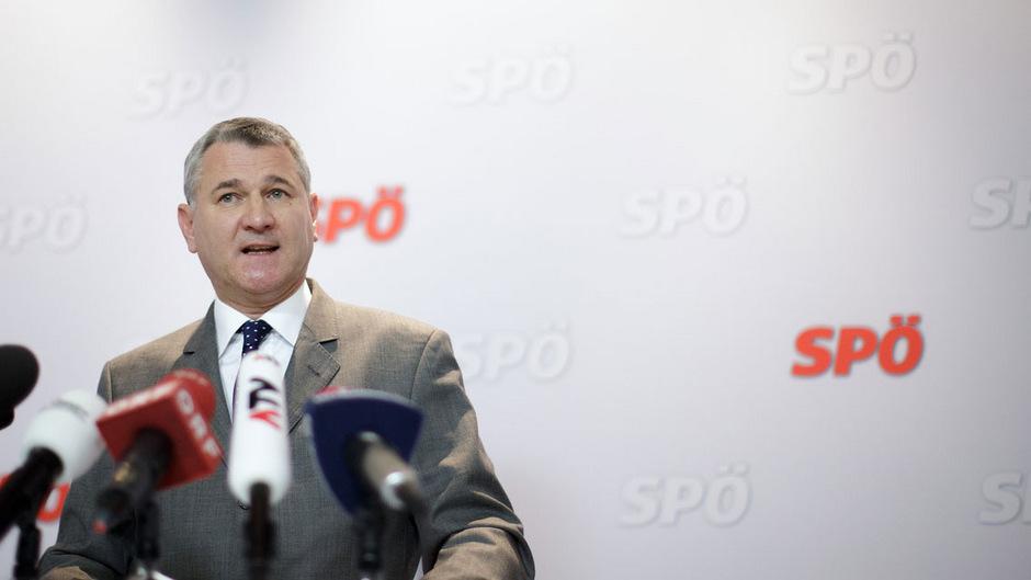 SP-Bundesgeschäftsführer Georg Niedermühlbichler tritt wegen der Silberstein-Affäre zurück.