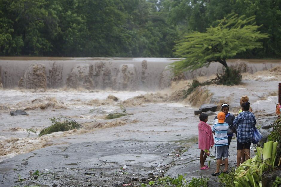 In Mittelamerika hat Nate große Schäden angerichtet.