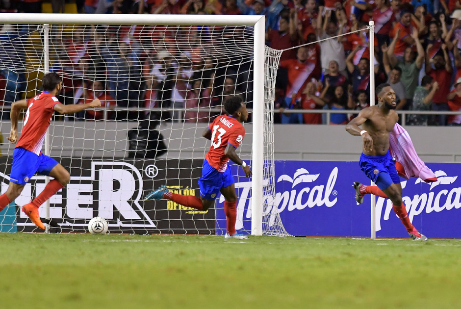 Kendall Waston erlöste Costa Rica in der Schlussminute.