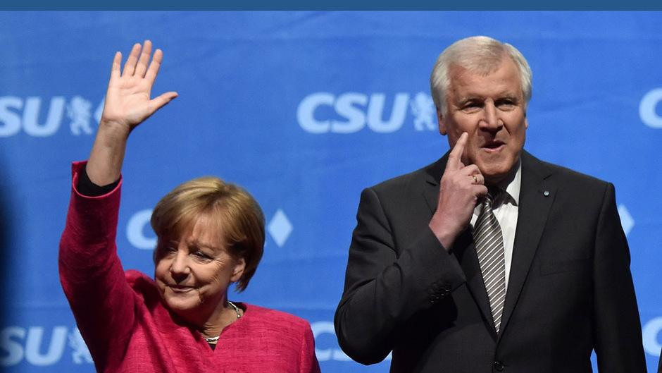 Zwischen Angela Merkel und Horst Seehofer gibt es einigen Gesprächsbedarf.