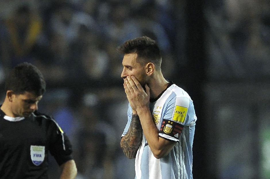 Eine WM ohne Messi? Dem Superstar droht mit Argentinien das vorzeitige Aus in der Qualifikation.
