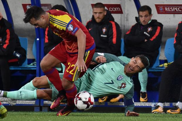 Cristiano Ronaldo hatte in Andorra hart zu kämpfen. Bei einem Sieg gegen die Schweiz wäre Portugal fix bei der WM.