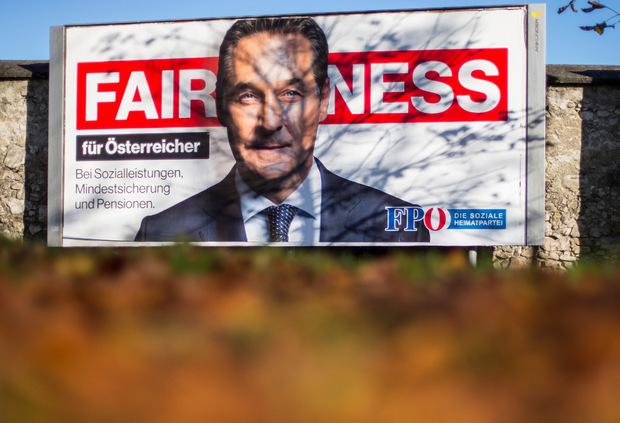 """Die FPÖ mit neuer Linie: """"Fairness"""" statt allzu scharfer Worte in Sachen Migration lautet die Strategie."""